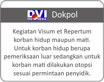 Layanan DVI Dokpol Rumah Sakit Bhayangkara Tingkat III Banjarmasin