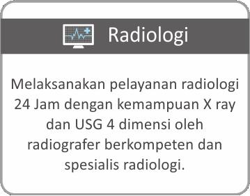 Layanan Radiologi Rumah Sakit Bhayangkara Tingkat III Banjarmasin